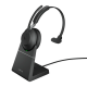 Jabra Evolve2 65, Link380a MS Mono Stand Black USB-A BT